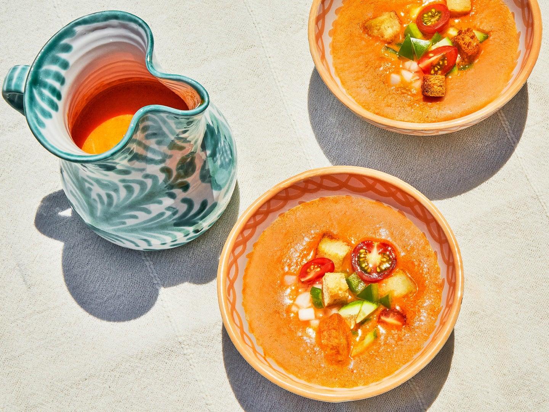 Gazpacho Andaluz Spanish Tomato Soup