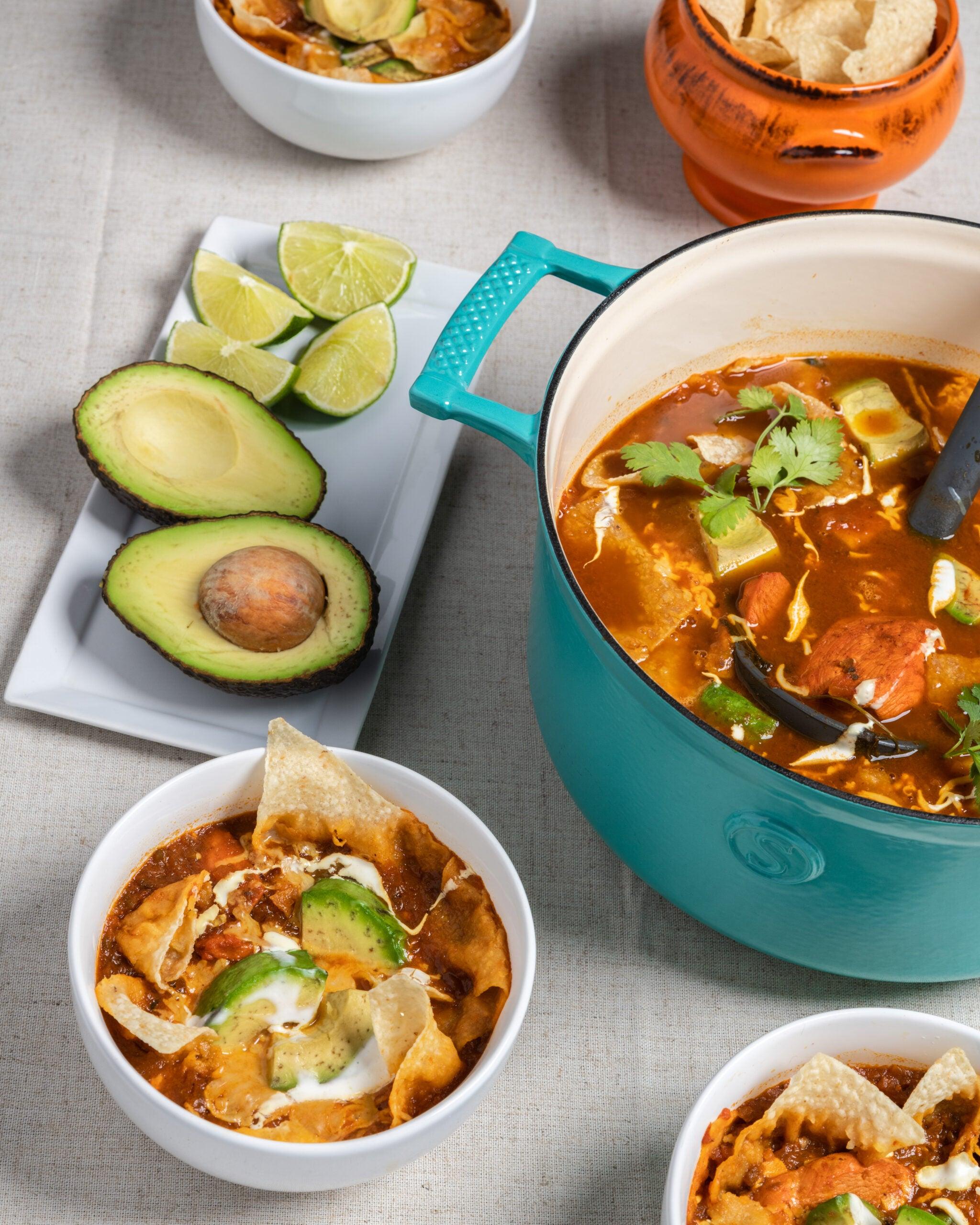 Sopa Azteca Tortilla Soup