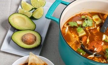 Chicken Tortilla Soup (Sopa Azteca)