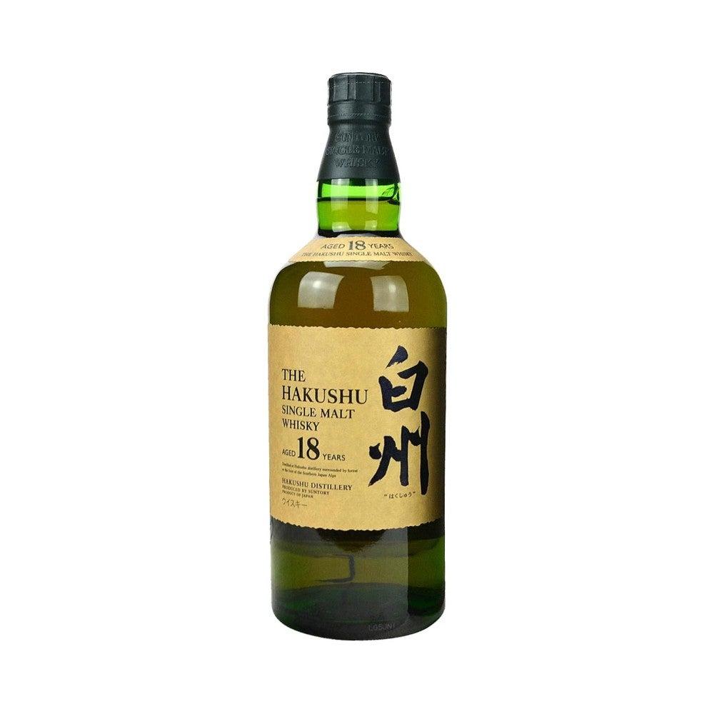 Best Japanese Whiskies Option Suntory - Hakushu 18 Year Old Single Malt Whisky 750ml