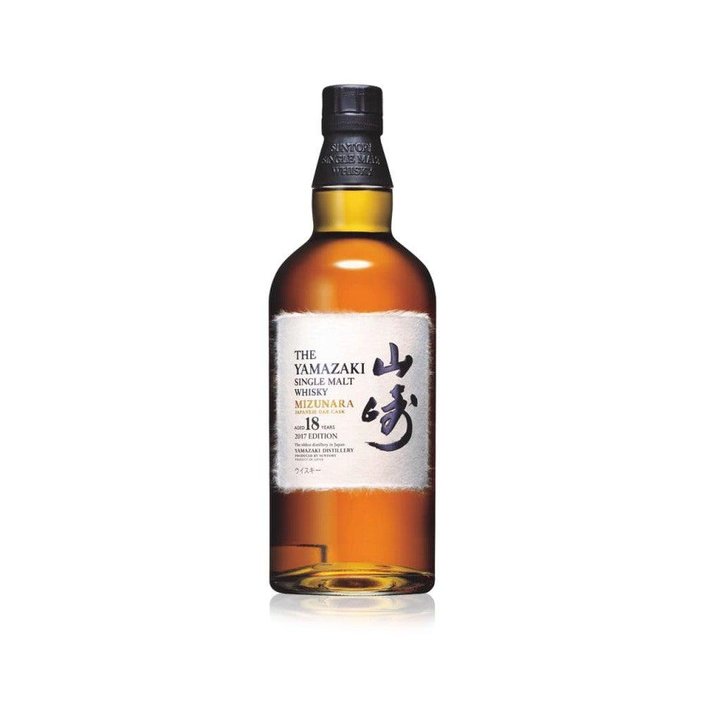 Best Japanese Whiskies Option Suntory Yamazaki Mizunara 18yr