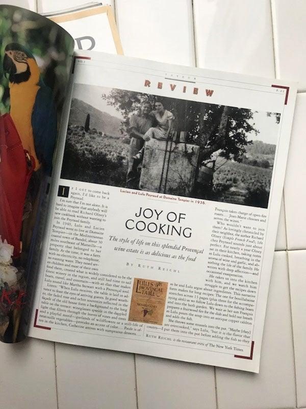 February's Cookbook Club Pick: Lulu's Provençal Table