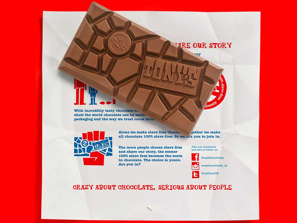 Tony's Chocolonely Limited Edition Bars
