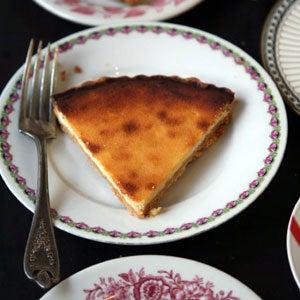Cheese Curd Tart