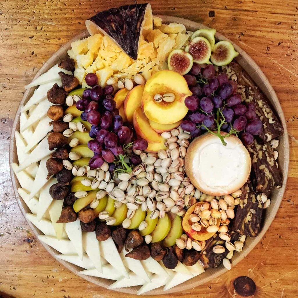 cheese platter 9