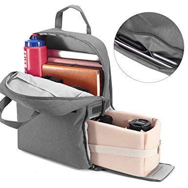 Kattee Shockproof Camera Backpack