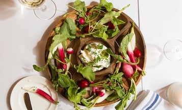 Boursin Dip with Radishes