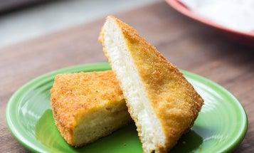 Mozzarella in Carozza (Fried Mozzarella Sandwiches)