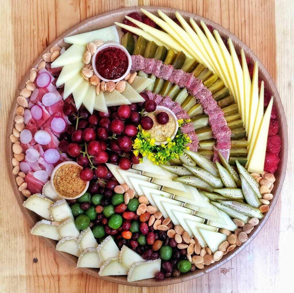 cheese platter 10
