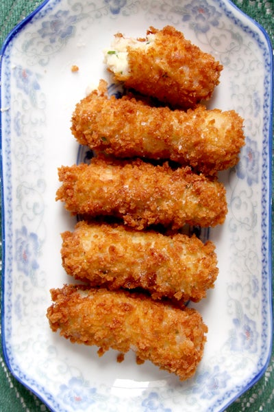 Virginia Ham and White Cheddar Croquettes