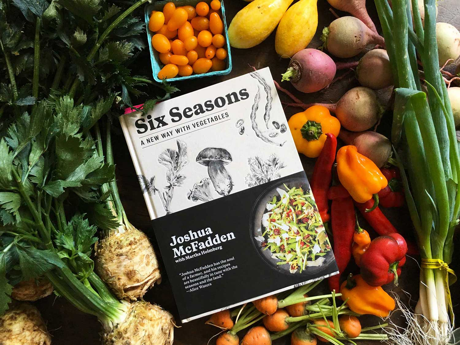 Cook Your Way Through Six Seasons, the September Cookbook Club Pick