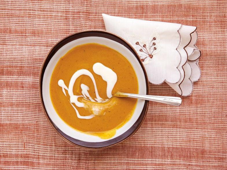 Caribbean Winter Squash Soup