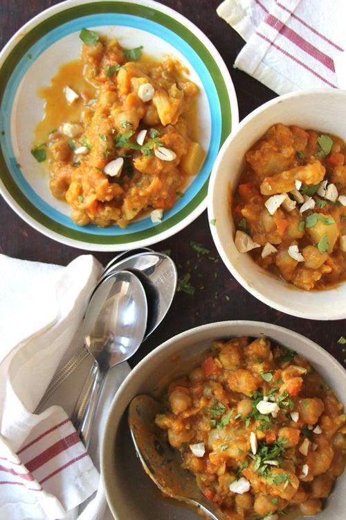 Pumpkin-Chickpea Curry