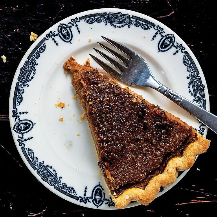 Maple Pumpkin Brûlée Pie