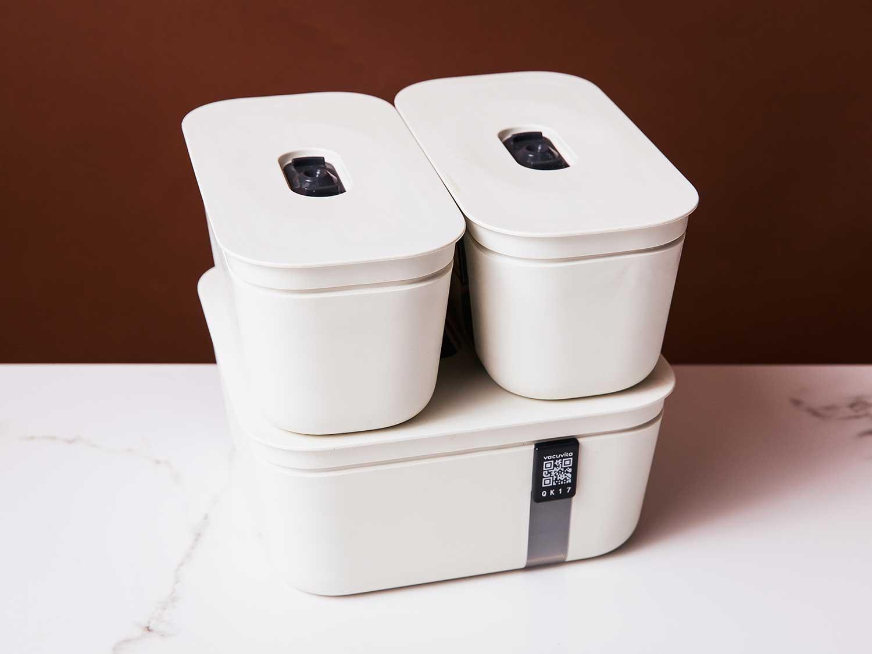Vacuvita Premium Vacuum Containers Complete Set
