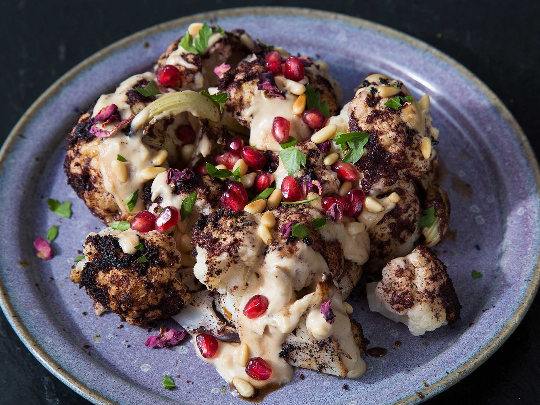 Cauliflower Shawarma Berber