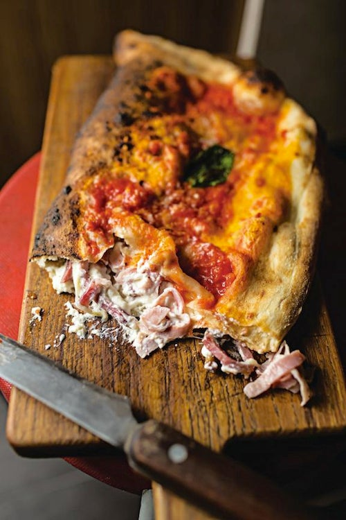 Ham and Cheese Calzone (Calzone di Prosciutto e Ricotta)