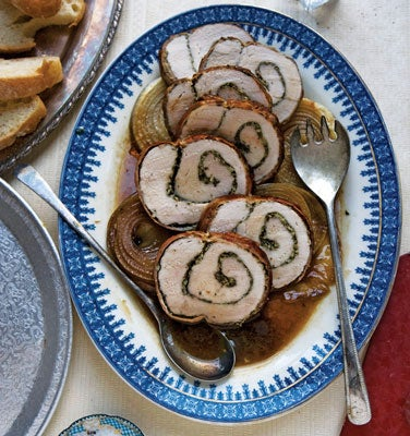 Prosciutto-Wrapped Roast Pork Loin