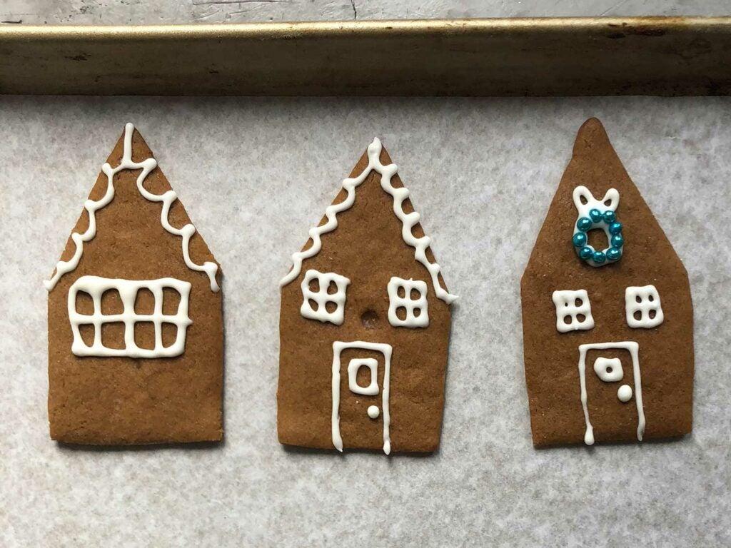gingerbread house cutouts