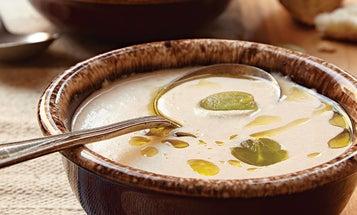 Almond and Garlic Soup (Ajo Blanco)
