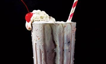 Blueberry Pie Milkshake