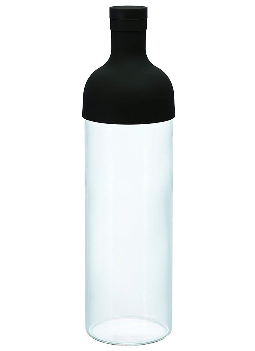 Wine bottle-shaped cold brew system—Hario