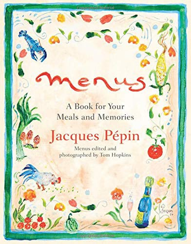 Menu's: A Book for Your Meals and Memories