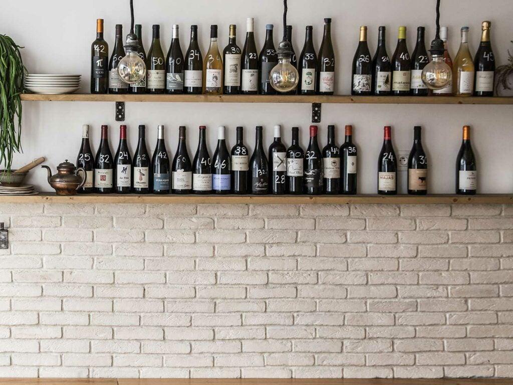 paris cafe wine list