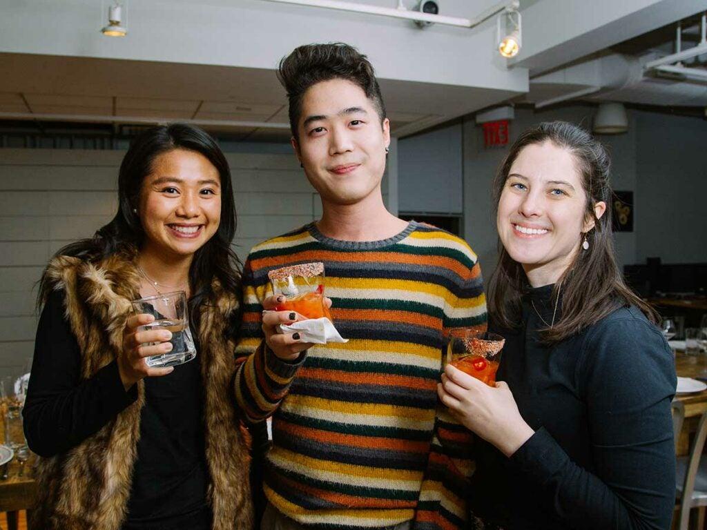 Vivian Chan, Eric Kim, Katie Macdonald