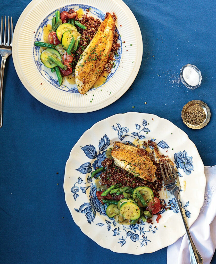 httpswww.saveur.comsitessaveur.comfilesimport20142014-02recipe_pan-fried-sole-with-red-quinoa-and-vegetables_982x1200.jpg