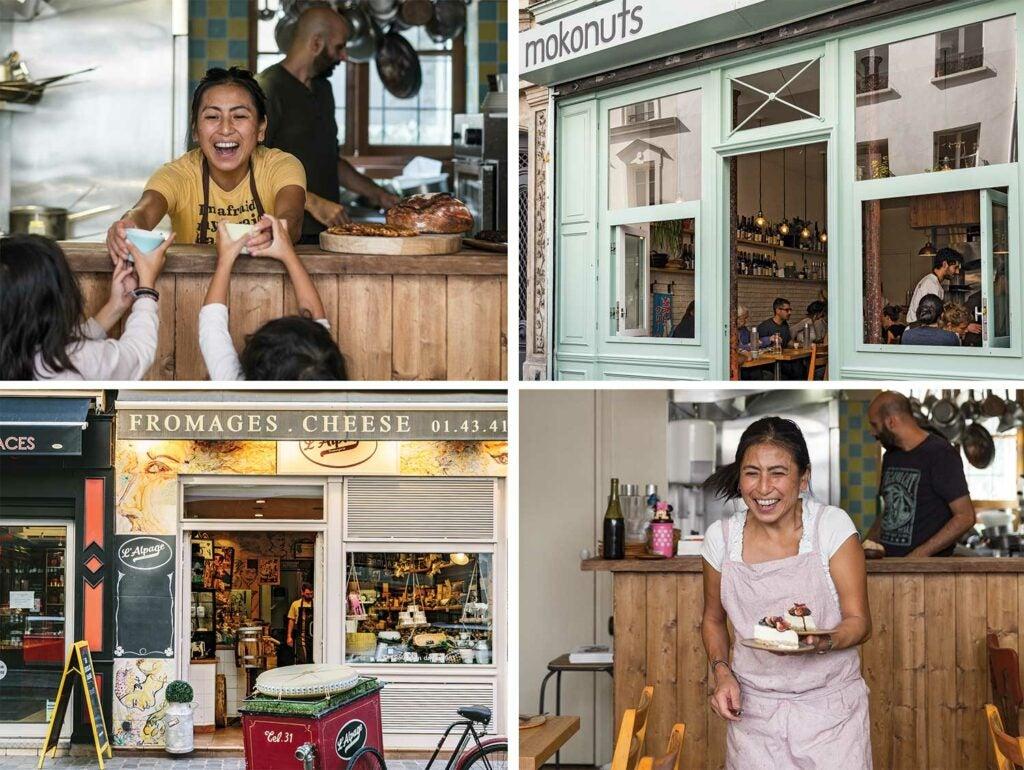 little paris cafe mokonuts
