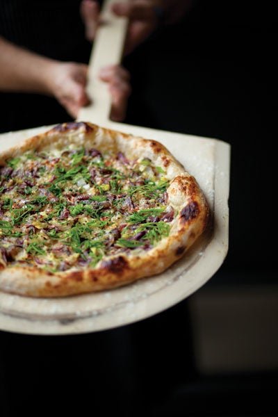 Six-Onion Pizza