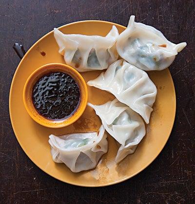 Pork and Chive Dumplings (Shui Jiao)