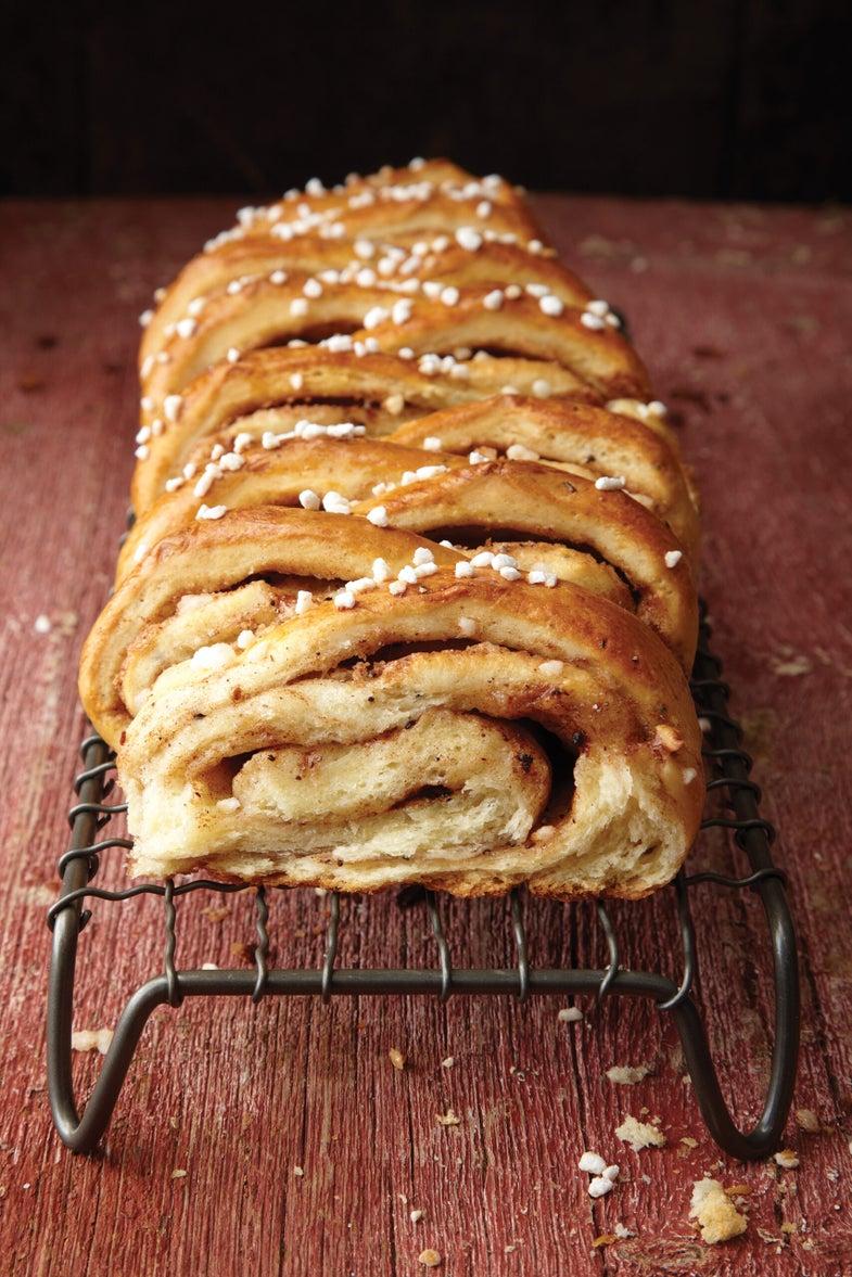 Swedish Cinnamon-and-Cardamom Bread
