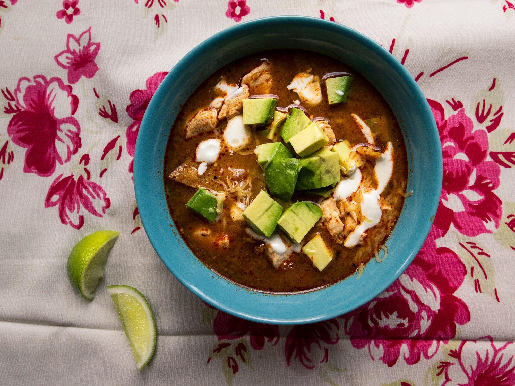 Mexican Tortilla Soup (Sopa Azteca) Worth Saving