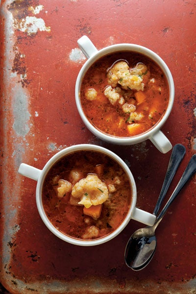 Paprika-Spiced Cauliflower Soup (Karfiolleves)