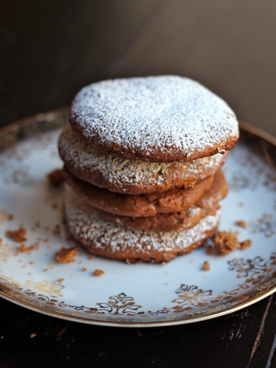 Lebkuchen (German Fruit and Spice Cookies