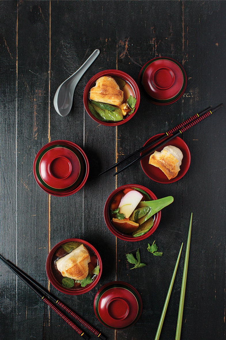 Japanese New Year's Soup