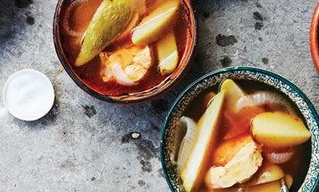 Caldo de Pollo (Mexican Chicken and Vegetable Soup)