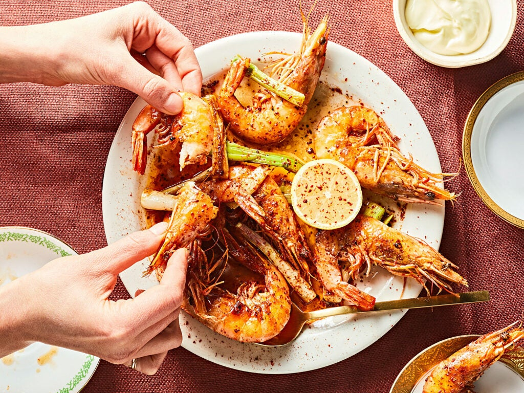 Shrimp and Chile Oil