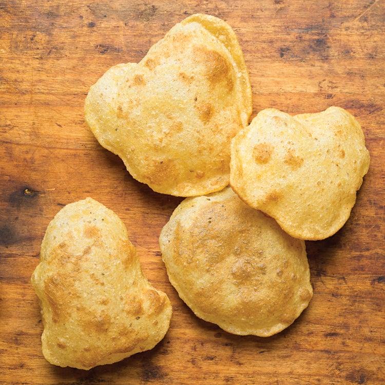 Deep-Fried Indian Bread (Puri)