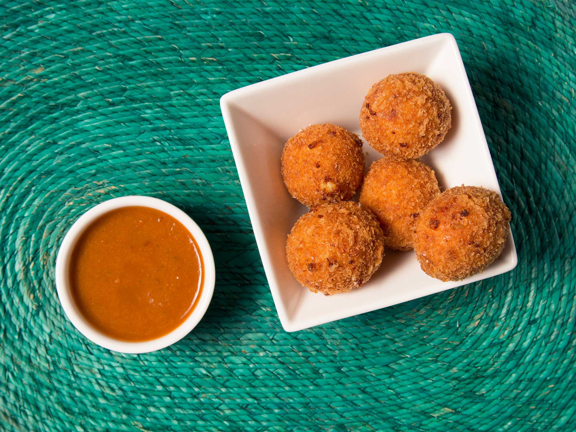 Mexican Ricotta Croquettes