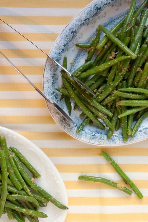 Green Beans with Lemons and Capers