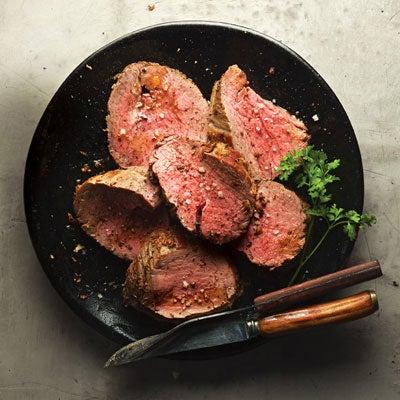 Rosemary-Rubbed Beef Tenderloin