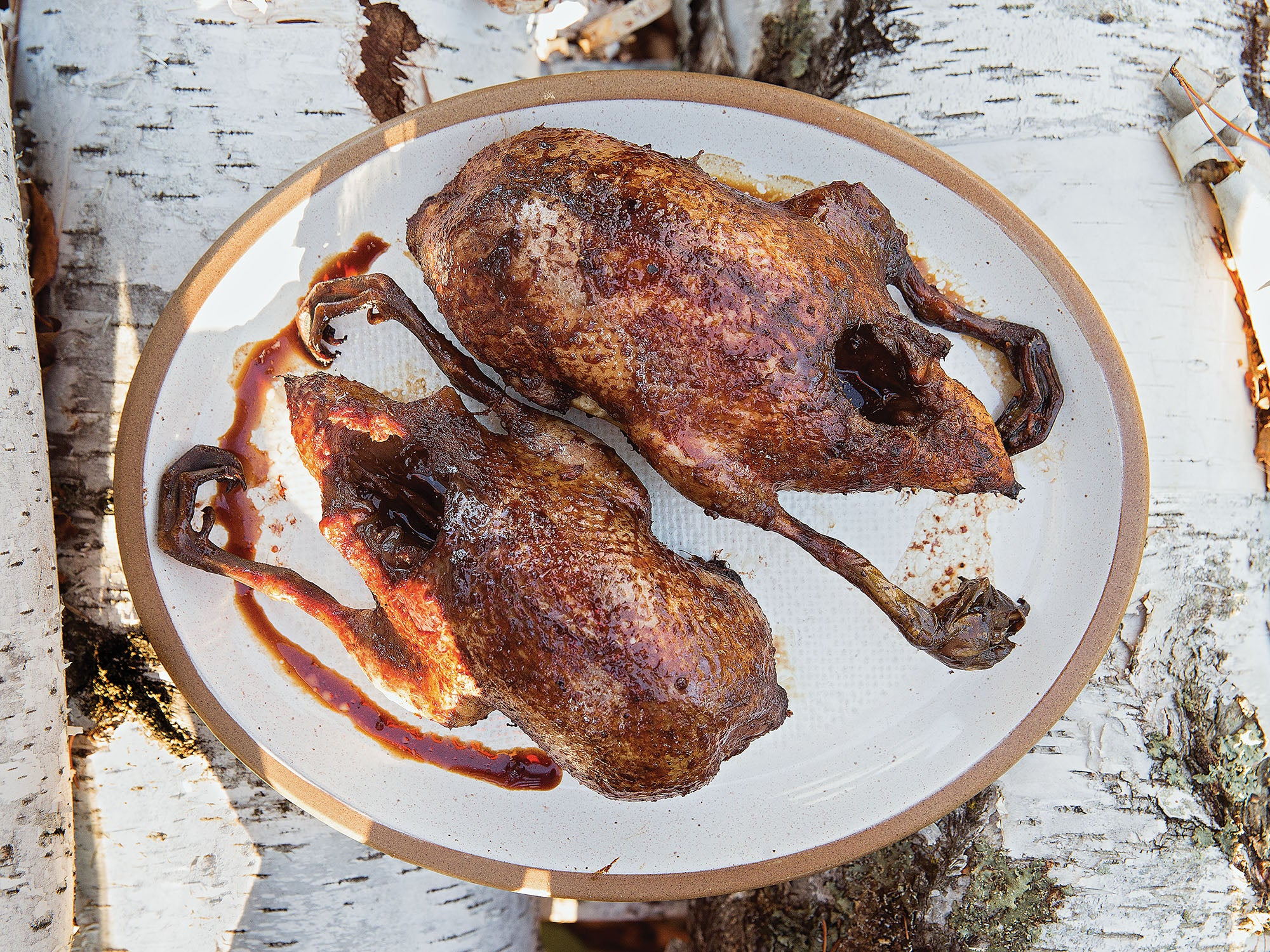 syrup wine roast duck