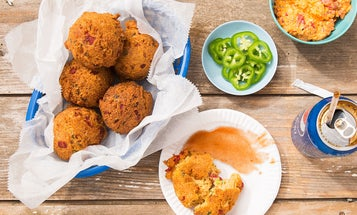 Pimento Cheese Hushpuppies Are the Best of Two Southern Worlds