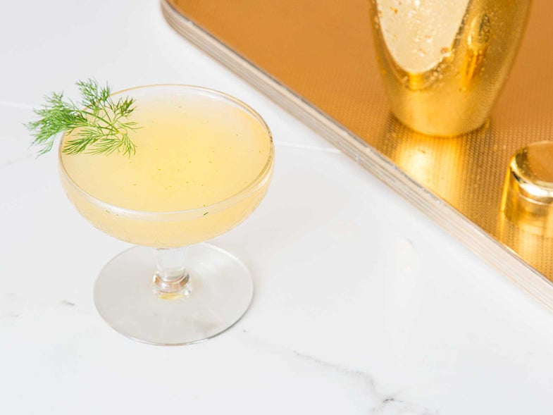 The Anvil Champagne Cocktail