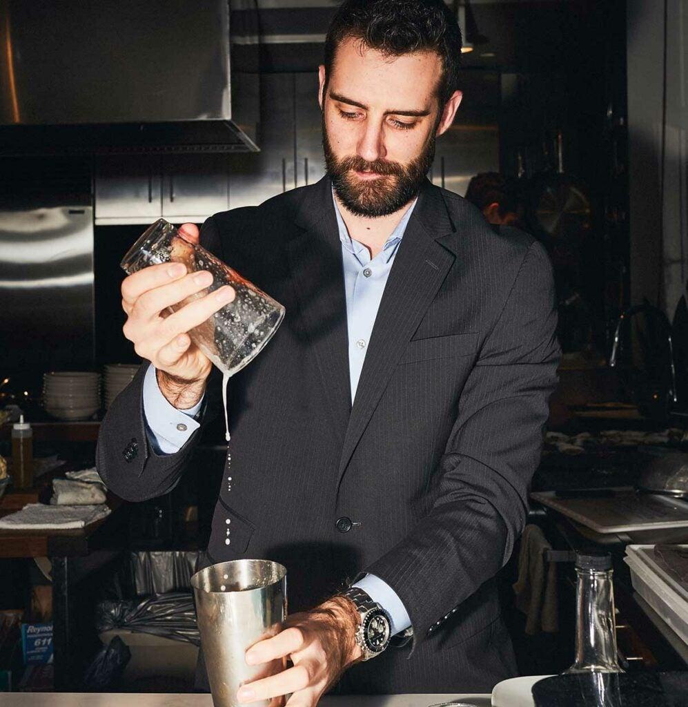 Beverage director Matt Whitney
