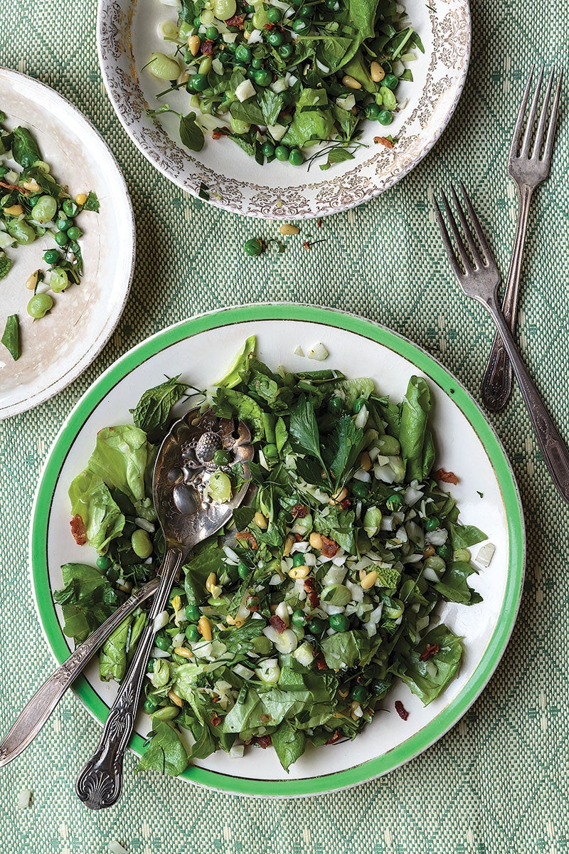Cooked and Raw Winter Salad