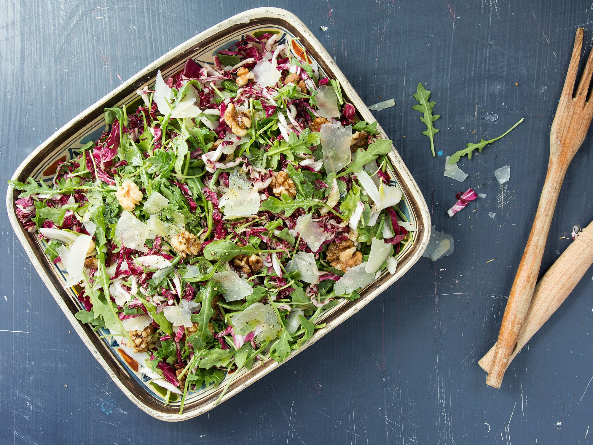 Arugula, Radicchio, and Fennel Salad
